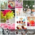 10 Easy Party Ideas - #diy #party #birthdayparty #babyshower #partydecor #diydecor