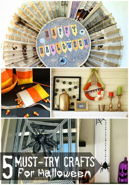 5 must-try crafts for Halloween   #halloween #crafts #diy #holiday