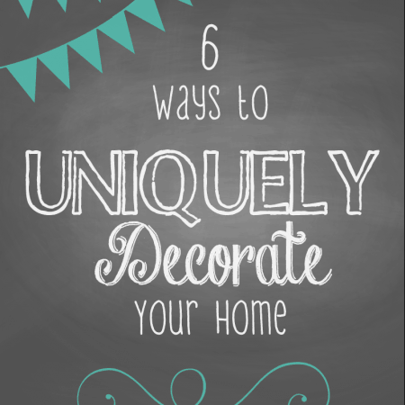 6 Ways to Uniquely Decorate Your Space | #decorating #homedecor #design #interiordesign