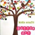 Button Tree Art - a great kids craft idea!!