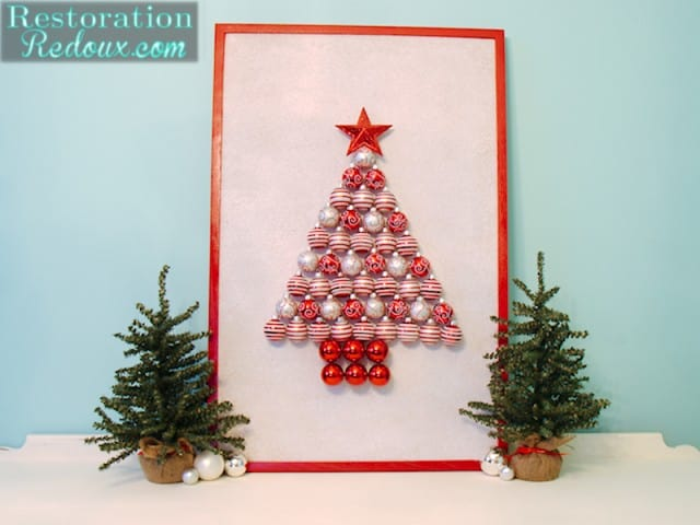 Christmas Decoration For Board : Ornament christmas tree simply designing with ashley