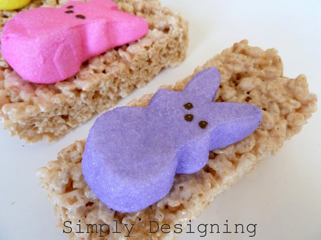 Rice Krispies Peeps {Peep Week Day 4} - Simply Designing with Ashley