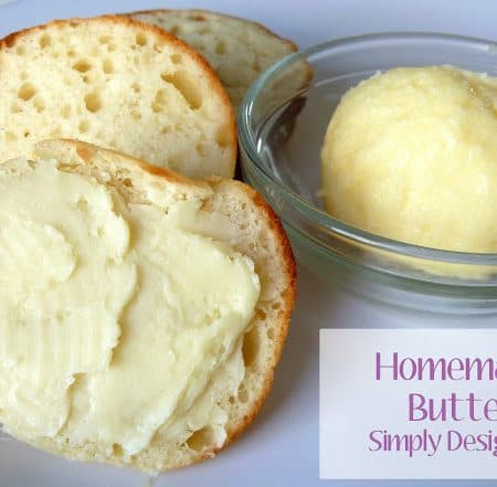 Homemade Butter in a Jar | awesome kids activity - definitely doing this this summer! | #recipe #kidsactivity #food #summer
