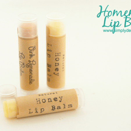Homemade Lip Balm - so simple to make! - #diybeauty #beauty #lipbalm #lips #recipe