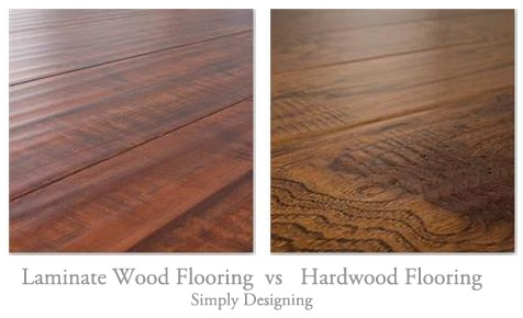 Floating Laminate Wood Vs Hardwood Flooring Simply
