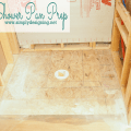 How to Prep a Shower for a new Shower Pan | #shower #bathroom #remodel #homeimprovement #diy #thetileshop @TheTileShop