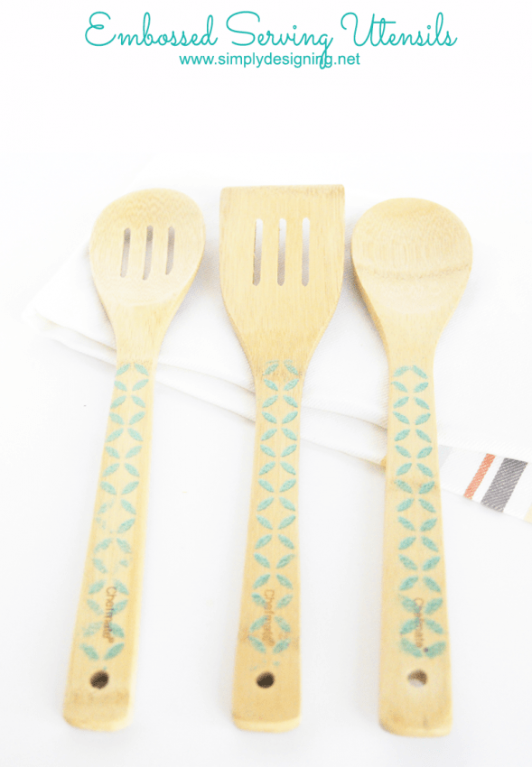 Embossed Serving Utensils