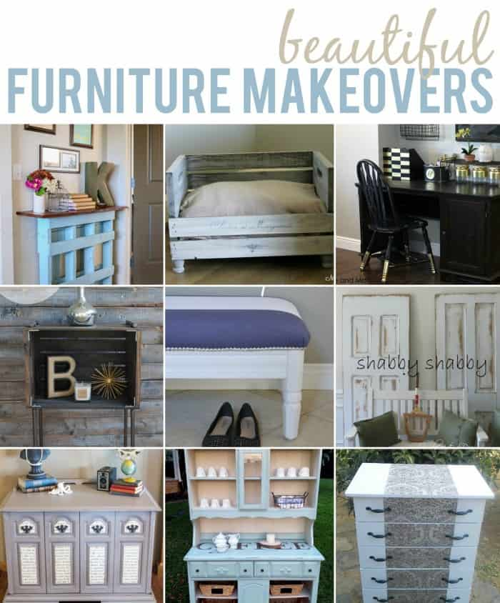 10 Beautiful DIY Furniture Makeovers #diy #furniture