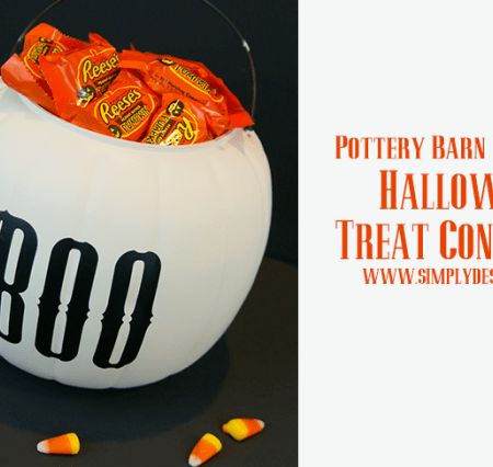 PB Knock-Off Halloween Treat Container