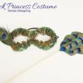 Peacock Princess Costume | #costume #halloween #peacock