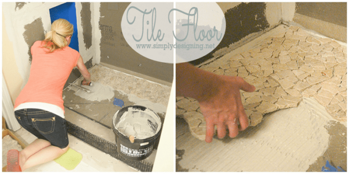 How To Lay Tile Step By Step So You Get It