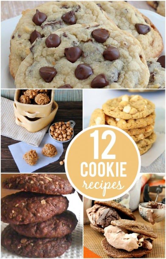 12 Cookie Recipes | #cookies #recipes #dessert