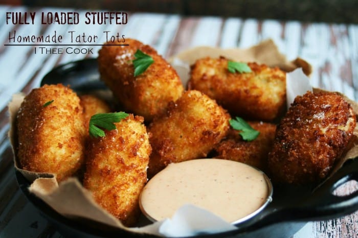 Fully Loaded Stuffed Homemade Tator Tots1
