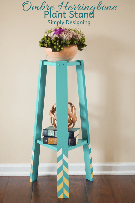 Ombre Plant Stand