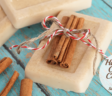 Handmade Oatmeal Cinnamon Soap Gift Featured Image