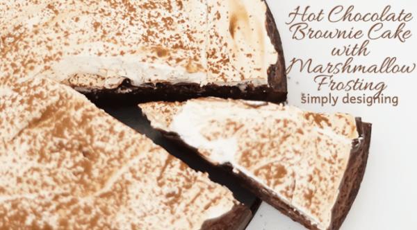 Rich Brownie Cake Recipe