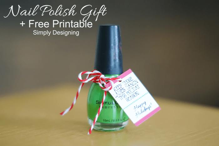 Nail Polish Holiday Gift Idea