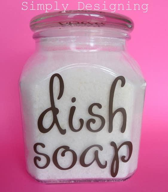 Homemade Dishwasher Detergent