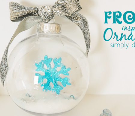Elsa Inspired FROZEN Ornament Featured Image