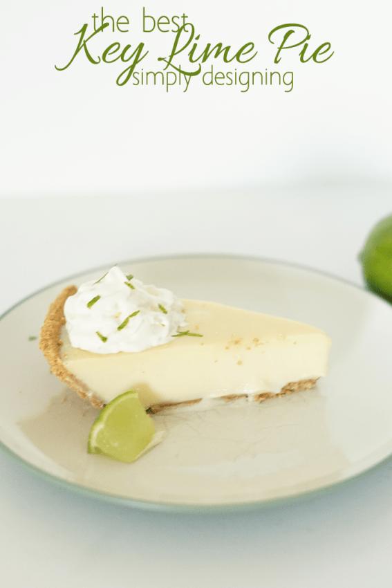 Easy Homemade Key Lime Cake