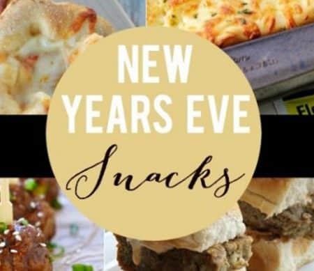 New Years Eve Snacks | a great list of appetizer and treats perfect for any party