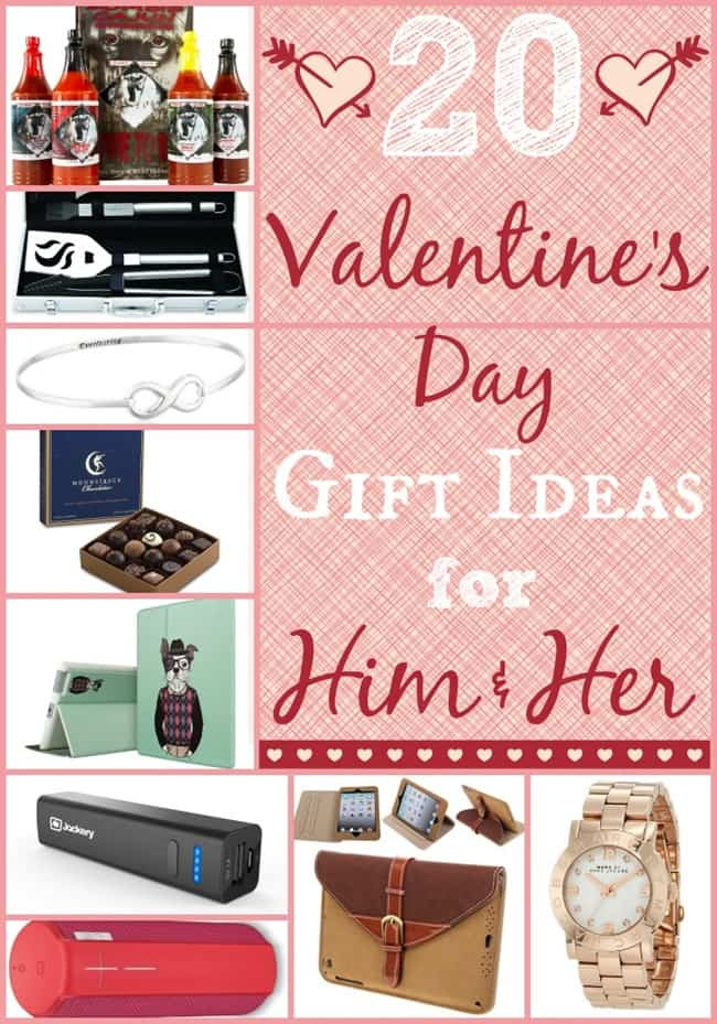 20 Valentines Day Gift Ideas for Him and Her
