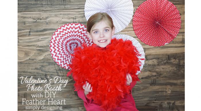DIY Valentine's Day Photo Booth