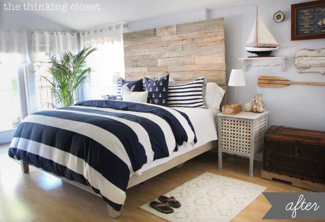 Modern Coastal Master Bedroom Decorating Ideas 26 ...