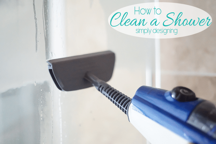 Clean Your Shower with Steam