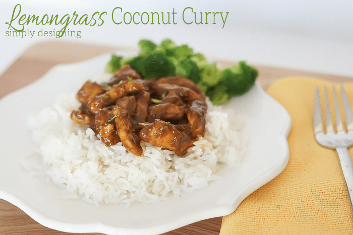 Lemongrass Coconut Curry - Simply Designing with Ashley