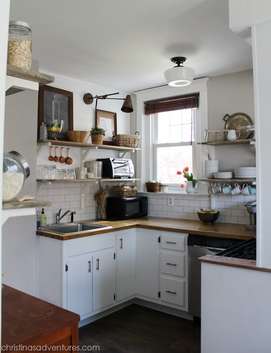 Small Kitchen Ashley Whitaker