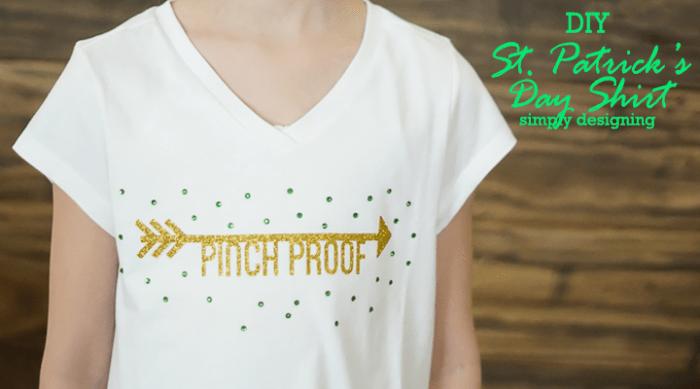 DIY St Patricks Day Shirt