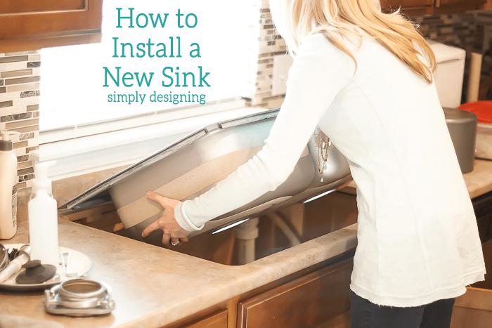 How To Hang A Sink : How to Install a New Sink
