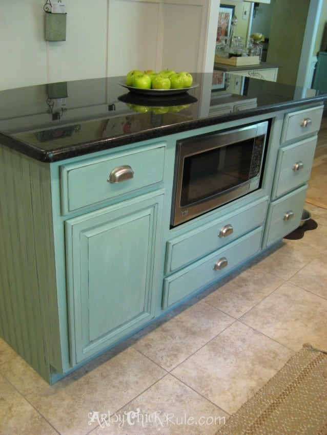 Rolling Kitchen Island With Butcher Block Top