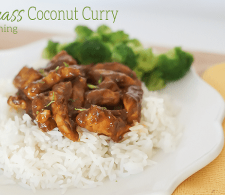 Lemongrass Coconut Curry