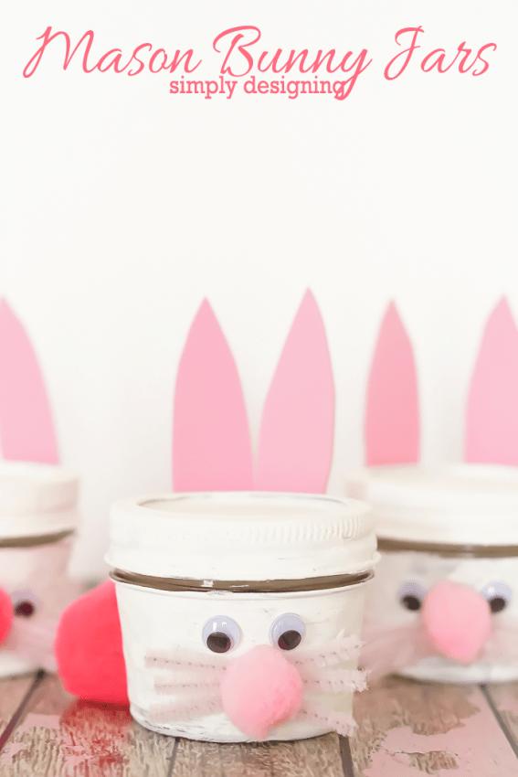 Mason Bunny Jar Craft