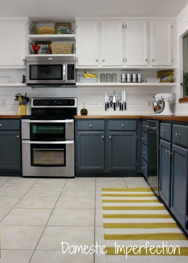 Kitchen Island Shelf Ideas