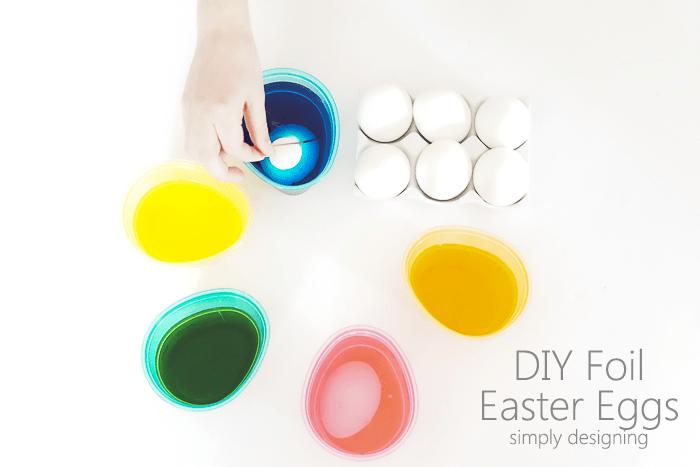 Dip Easter Eggs