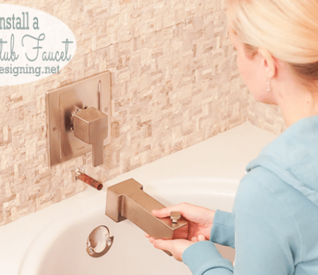 How to Install New Bathtub Fixtures Featured Image