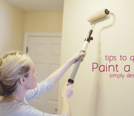 Roll Paint onto Walls
