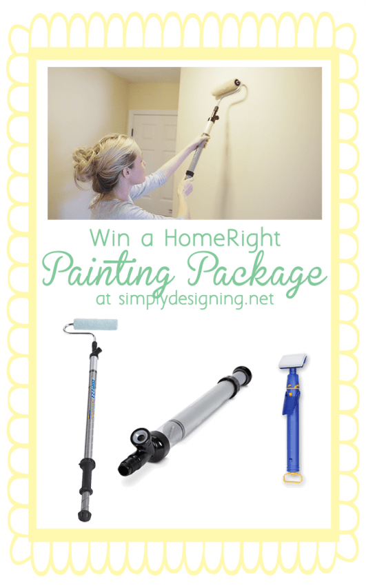 Win a HomeRight Painting Package