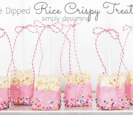 Featured Image Chocolate Dipped Rice Crispy Treat Pops