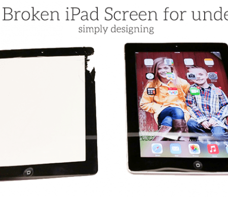 Fix a shattered iPad screen
