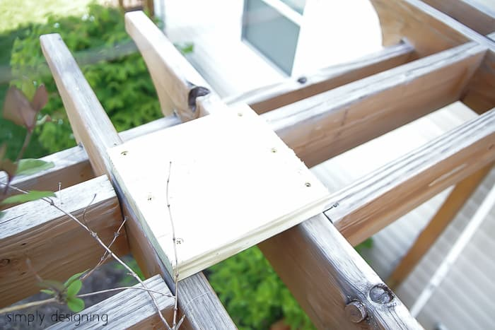 Porch Swing Support