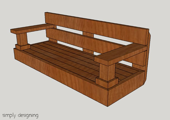 Plans to Build a Porch Swing