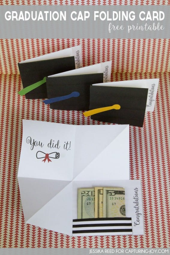 Delicate image for graduation printable cards