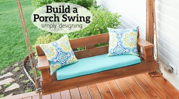 Build a Porch Swing