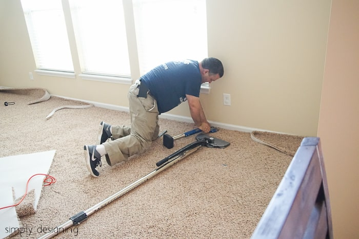 Installing New Carpet