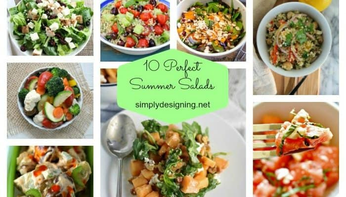 Salad Recipes for Spring and Summer
