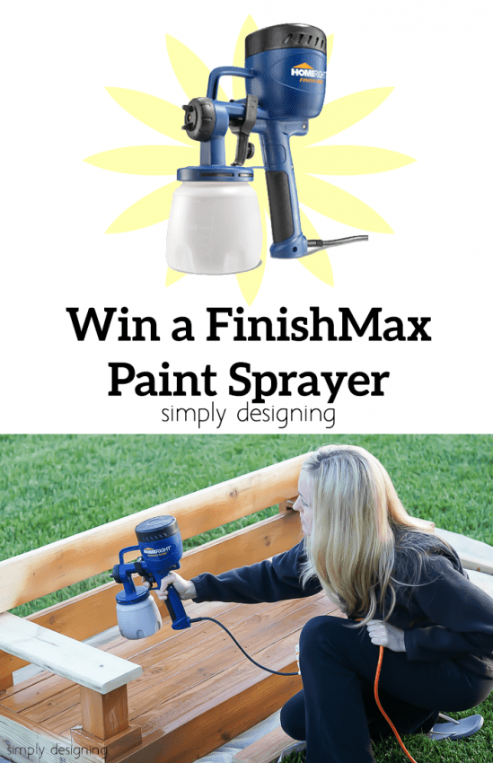 Win a FinishMax Paint Sprayer